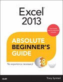 Excel 2013 Absolute Beginner's Guide (eBook, ePUB)