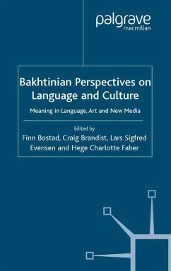 Bakhtinian Perspectives on Language and Culture (eBook, PDF)