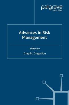 Advances in Risk Management (eBook, PDF)