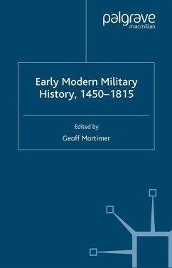Early Modern Military History, 1450-1815 (eBook, PDF) - Mortimer, G.