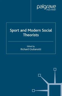 Sport and Modern Social Theorists (eBook, PDF)