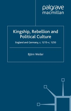 Kingship, Rebellion and Political Culture (eBook, PDF)