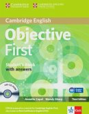 Student's Book with answers and CD-ROM, Klett edition / Objective First, Third edition