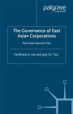 The Governance of East Asian Corporations (eBook, PDF)