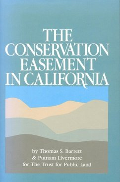 Conservation Easemin California (eBook, ePUB) - Barrett, Thomas S.