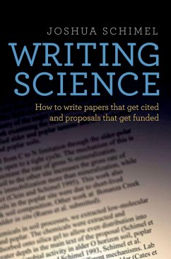 Writing Science (eBook, PDF) - Schimel, Joshua