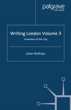 Writing London (eBook, PDF)