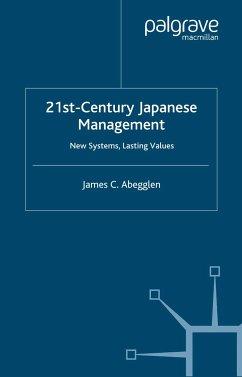 21st-Century Japanese Management (eBook, PDF)