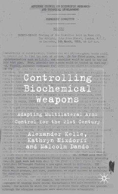 Controlling Biochemical Weapons (eBook, PDF)