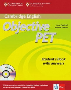 Objective PET. Student's book with answers and CD-ROM