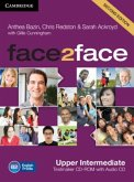 Upper-Intermediate, Testmaker CD-ROM and Audio-CD / face2face, Second edition