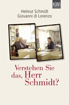 Verstehen Sie das, Herr Schmidt? - Schmidt, Helmut; Di Lorenzo, Giovanni