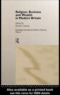 Religion, Business and Wealth in Modern Britain (eBook, PDF)