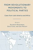 From Revolutionary Movements to Political Parties (eBook, PDF)