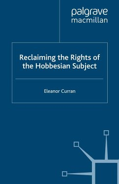 Reclaiming the Rights of the Hobbesian Subject (eBook, PDF)