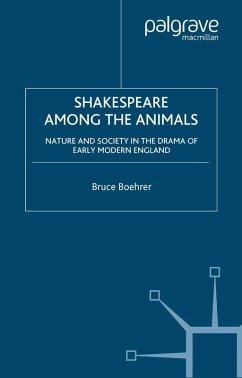 Shakespeare Among the Animals (eBook, PDF) - Boehrer, B.