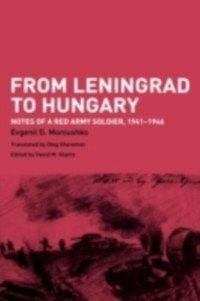 From Leningrad to Hungary (eBook, PDF)