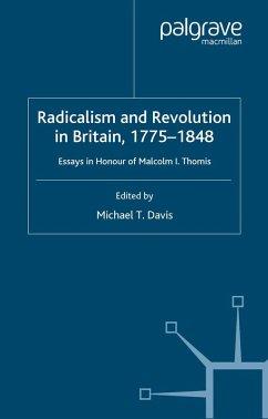 Radicalism and Revolution in Britain 1775-1848 (eBook, PDF) - Davis, M.