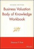 Business Valuation Body of Knowledge Workbook (eBook, PDF)