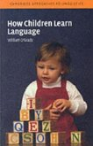 How Children Learn Language (eBook, PDF)
