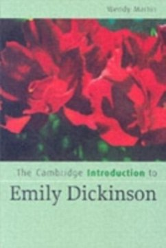 Cambridge Introduction to Emily Dickinson (eBook, PDF) - Martin, Wendy
