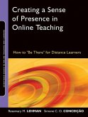 Creating a Sense of Presence in Online Teaching (eBook, PDF)