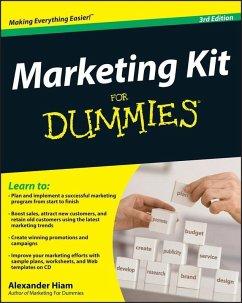 Marketing Kit for Dummies (eBook, ePUB) - Hiam, Alexander