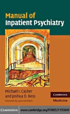 Manual of Inpatient Psychiatry (eBook, PDF) - Casher, Michael I.