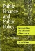 Public Finance and Public Policy (eBook, PDF)