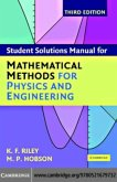 Student Solution Manual for Mathematical Methods for Physics and Engineering Third Edition (eBook, PDF)