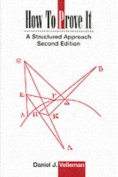 How to Prove It (eBook, PDF) - Velleman, Daniel J.