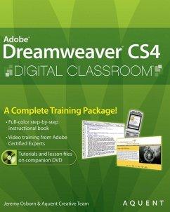 Dreamweaver CS4 Digital Classroom (eBook, PDF) - Osborn, Jeremy