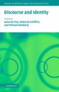 Discourse and Identity (eBook, PDF)