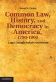 Common Law, History, and Democracy in America, 1790-1900 (eBook, PDF)