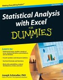Statistical Analysis with Excel For Dummies (eBook, PDF)