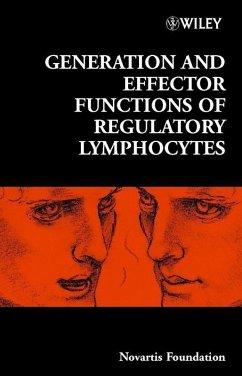 Generation and Effector Functions of Regulatory Lymphocytes (eBook, PDF)