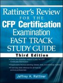 Rattiner's Review for the CFP(R) Certification Examination, Fast Track, Study Guide (eBook, PDF)