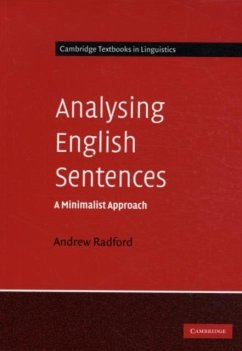Analysing English Sentences (eBook, PDF) - Radford, Andrew