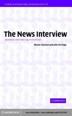 News Interview (eBook, PDF) - Clayman, Steven