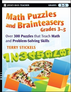 Math Puzzles and Brainteasers, Grades 3-5 (eBook, ePUB) - Stickels, Terry