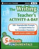 The Writing Teacher's Activity-a-Day (eBook, PDF)