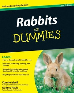 Rabbits For Dummies (eBook, PDF) - Pavia, Audrey; Isbell, Connie