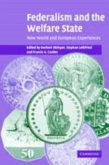 Federalism and the Welfare State (eBook, PDF)