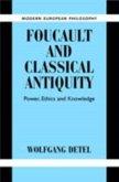 Foucault and Classical Antiquity (eBook, PDF)