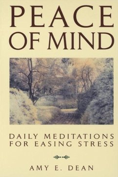 Peace of Mind (eBook, ePUB) - Dean, Amy E.