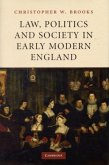Law, Politics and Society in Early Modern England (eBook, PDF)