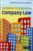 European Comparative Company Law (eBook, PDF)