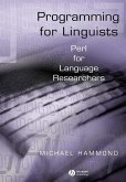 Programming for Linguists (eBook, PDF)
