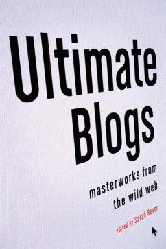 Ultimate Blogs (eBook, ePUB) - Boxer, Sarah