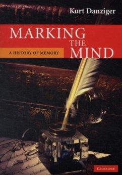 Marking the Mind (eBook, PDF) - Danziger, Kurt
